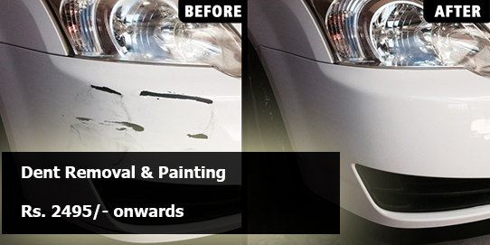 Dent Removal and Painiting in OMR