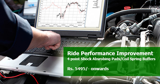 Car Ride Performance Improvement Offer in OMR
